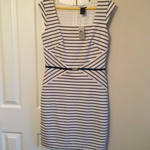 NWT Ann Taylor striped dress